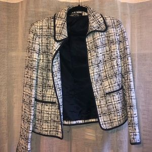 Ellen Tracy Tweed blazer